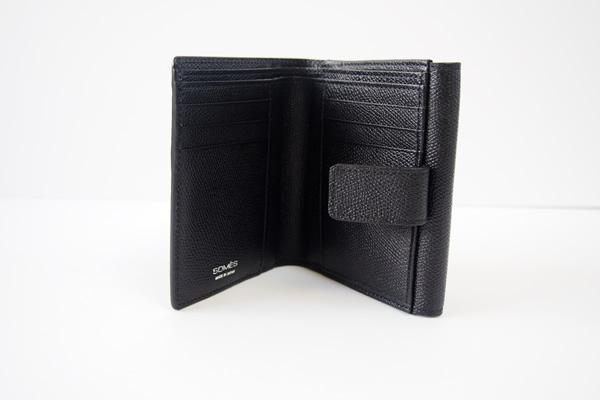 ソメスサドル|SOMES SADDLE|グレインレザー2つ折り財布|ブラックイメージ03