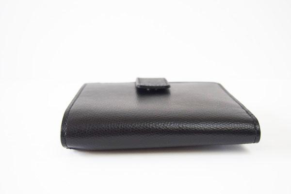 ソメスサドル|SOMES SADDLE|グレインレザー2つ折り財布|ブラックイメージ08