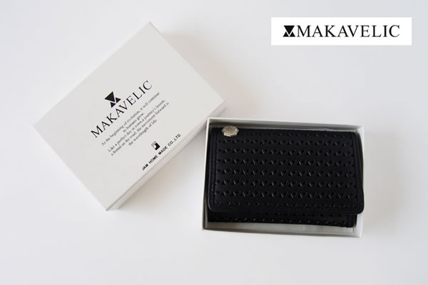 マキャベリック|MAKAVELIC|カードケース|Products by JAM HOME MADE CO.,Ltd LEATHER CARD CASEイメージ01