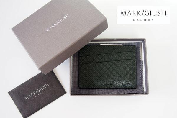 マーク・ジュスティ|MARK/GIUSTI|メンズ レザー カードケース P-031 MGE/400イメージ01