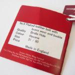 スウェイン・アドニー|Swaine Adeney|ブライドルレザー編み込みベルト(ブラウン|ハバナ)|31/80|No.6 Plaited leather belt with brass west end buckle Bridle Hideサブイメージ 詳細