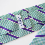ドレイクス Drake's フェアファックス ライセンス生産 ハウンドトゥース×レジメンタルネクタイ シルク サブイメージ07