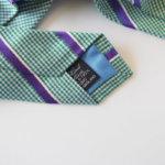 ドレイクス Drake's フェアファックス ライセンス生産 ハウンドトゥース×レジメンタルネクタイ シルク サブイメージ03
