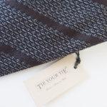 タイユアタイ|TIE YOUR TIE|シルクタイ(セッテピエゲ)|ネクタイ|30th Anniversary|ブラウン×ネイビーイメージ02