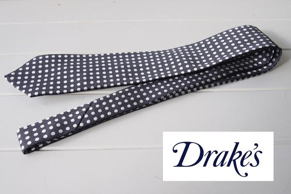 ドレイクス|Drake's|マイケル ジェイ ドレイク バイ ドレイクス|Drake's|Michael J Drake by Drake's ネクタイメインイメージ