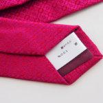 <シャルベ|CHARVET>シルクジャガードタイ|ピンク|小紋柄サブイメージ06