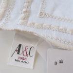 アーディアンドシー|AD&C|ハンドメイドリネンポケットチーフ|ホワイトサブイメージ01