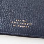 スマイソン|SMYTHSON|バーリントン 長札入れ ネイビーサブイメージ01