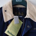 バブア―|Barbour|ビデイルジャケット|OVERDYED SL BEDALE|ネイビー|38サブイメージ03
