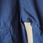 バブア―|Barbour|ビデイルジャケット|OVERDYED SL BEDALE|ネイビー|38サブイメージ05