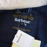バブア―|Barbour|ビデイルジャケット|OVERDYED SL BEDALE|ネイビー|38サブイメージ011