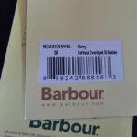 バブア― Barbour ビデイルジャケット OVERDYED SL BEDALE ネイビー 38サブイメージ012