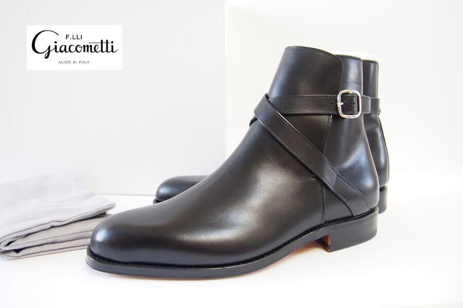 ジャコメッティ|F.lli Giacometti|FG337 ジョッパーブーツ 39.5 イメージ01