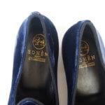 エデン|EDHEN MILANO|リボンモチーフベロア素材ローファー|Kensington Loafers イメージ09