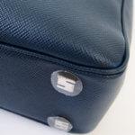 セラピアン|Serapian Milano|2WAY ブリーフケース|ネイビー|Single briefcase with zip Evolution Ocean Blue イメージ010