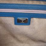 セラピアン|Serapian Milano|2WAY ブリーフケース|ネイビー|Single briefcase with zip Evolution Ocean Blue イメージ015