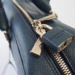 セラピアン|Serapian Milano|2WAY ブリーフケース|ネイビー|Single briefcase with zip Evolution Ocean Blue イメージ06