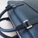 セラピアン|Serapian Milano|2WAY ブリーフケース|ネイビー|Single briefcase with zip Evolution Ocean Blue イメージ08