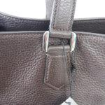 セラピアンミラノ|Serapian |カーフレザー クラッチ内臓 トートバッグ| Pebble/Gange SPEBGMLL6935-M34(ブラウン)イメージ011