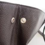 セラピアンミラノ|Serapian |カーフレザー クラッチ内臓 トートバッグ| Pebble/Gange SPEBGMLL6935-M34(ブラウン)イメージ017