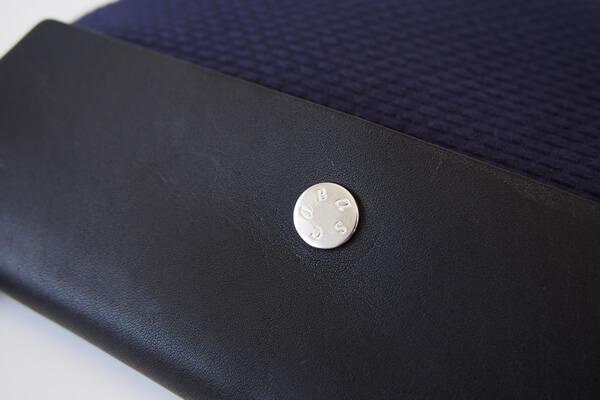 キャバ|CABAS|サコッシュ|CaBas N°60 Micro Shoulder medium|ネイビー×ブラック イメージ04