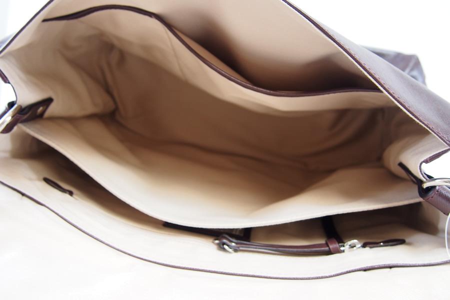 ザネラート|ZANELLATO|POSTINA M +|ポスティーナ エムプラス |サフィアーノレザー2WAYバッグ|LINEA SAFFIANO|ブラウンイメージ012