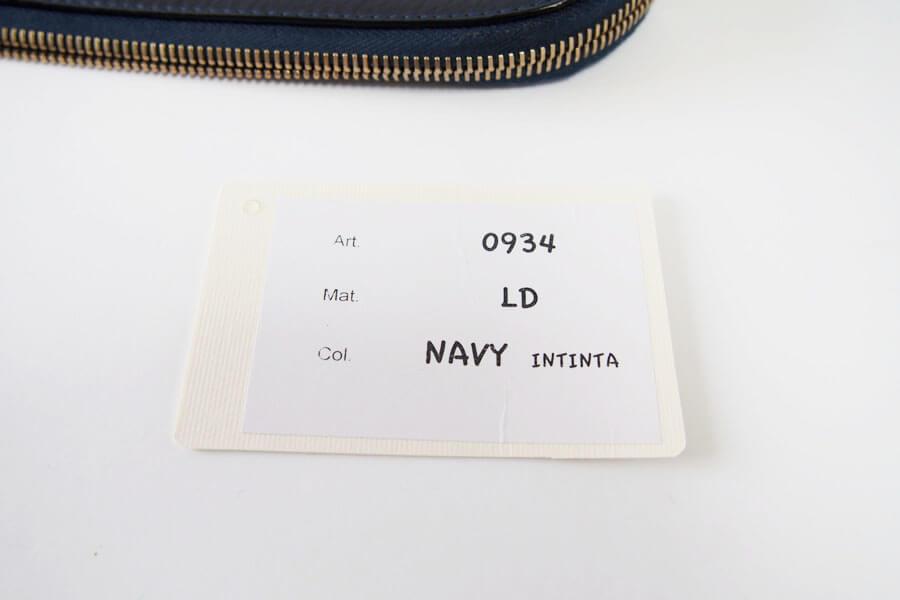 シセイ|cisei|リンドスレザークラッチバッグ|0934|NAVY|INTINTA イメージ011