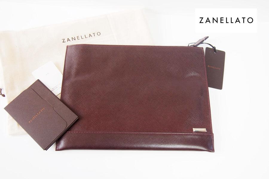ザネラート|ZANELATO|サフィアーノレザークラッチバッグ NENO M 36105-66|ブラウン イメージ01