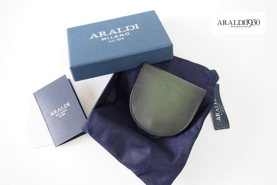 アラルディ|ARALDI 1930|小銭入れ|コインケース|EMERALD|エメラルド|AR B P356 COIN CASE イメージ01