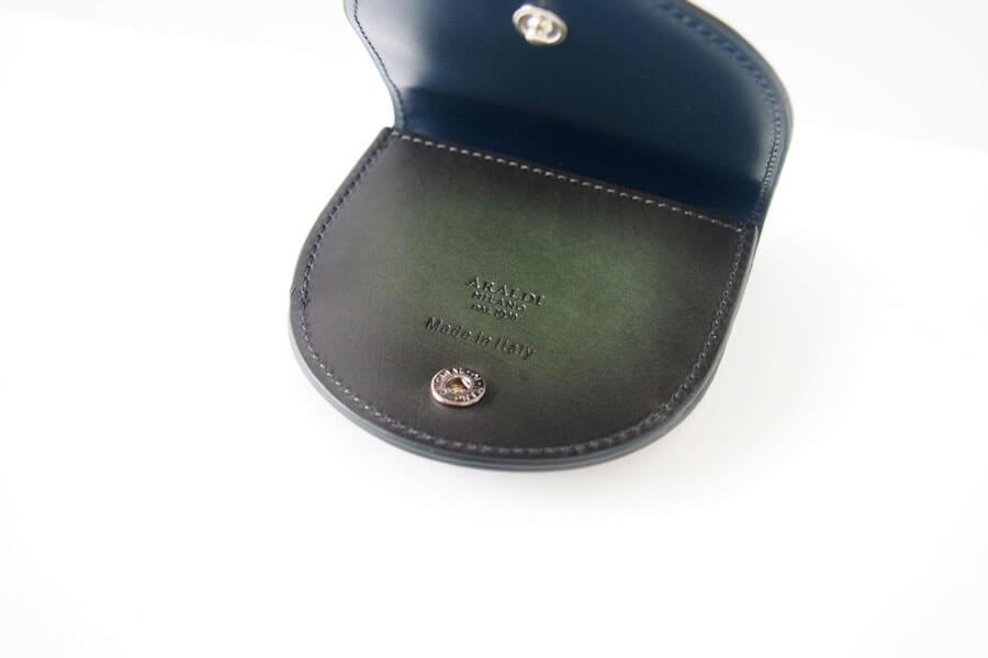 アラルディ|ARALDI 1930|小銭入れ|コインケース|EMERALD|エメラルド|AR B P356 COIN CASE イメージ08