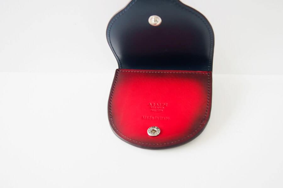 アラルディ|ARALDI 1930|小銭入れ|コインケース|ROSSO|レッド|AR B P356 COIN CASEイメージ08