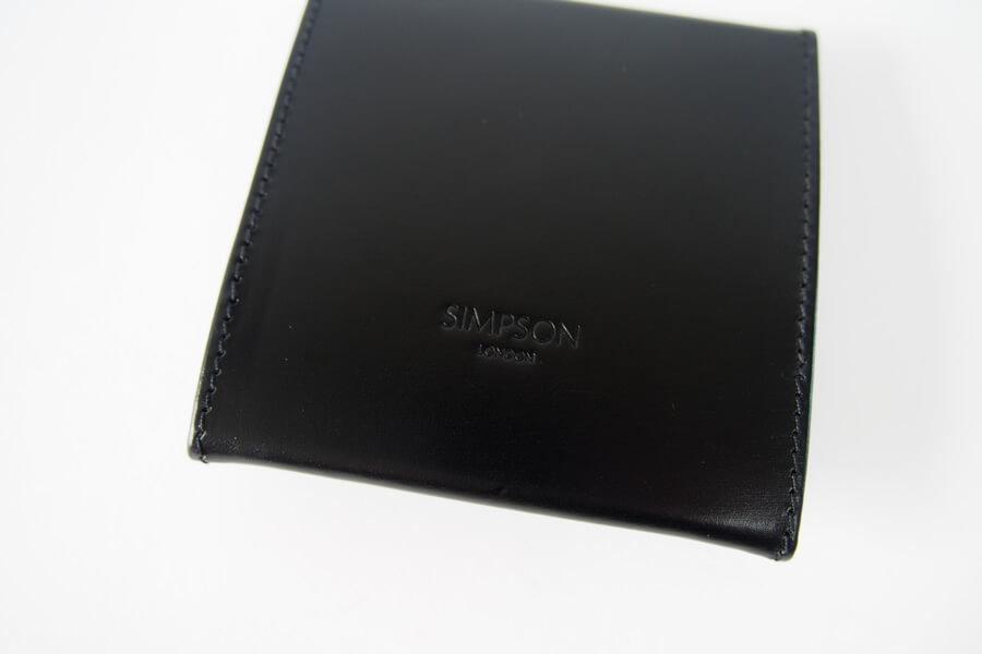 シンプソン ロンドン|SIMPSON LONDON|コインケース|小銭入れ|財布|ブライドルレザー|阪急百貨店限定|ブラック イメージ05