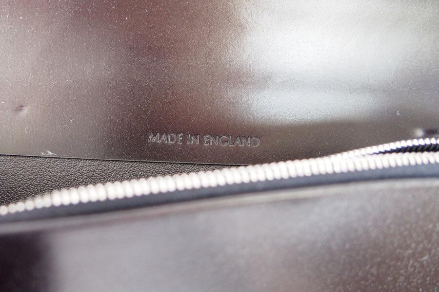シンプソン ロンドン|SIMPSON LONDON|長財布|小銭入れ付き|ブライドルレザー|ブラック|W680 イメージ013