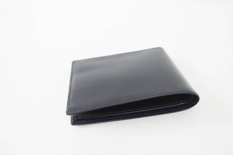 シンプソン ロンドン|SIMPSON LONDON|2つ折財布|小銭入れ付き|ブライドルレザー|ネイビー|W112 イメージ06