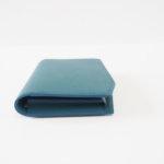 コルテ|Corthay|キャメルレザー|カードケース|ブルー イメージ05.0
