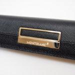 モンブラン|MONTBLANC| 1本差しペンケース|Sartorial Pen Pouch Lady|ブラック|イタリア製イメージ04