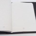 モンブラン|MONTBLANC|レザーケース付きノートブック|Montblanc 111114|Signature Mediumブラウンレザー&ファブリック手帳 イメージ014