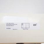 モンブラン|MONTBLANC|レザーケース付きノートブック|Montblanc 111114|Signature Mediumブラウンレザー&ファブリック手帳 イメージ02