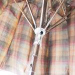 マルベリー|MULBERRY|タータンチェック柄折り畳み傘イメージ06