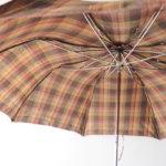 マルベリー|MULBERRY|タータンチェック柄折り畳み傘イメージ07