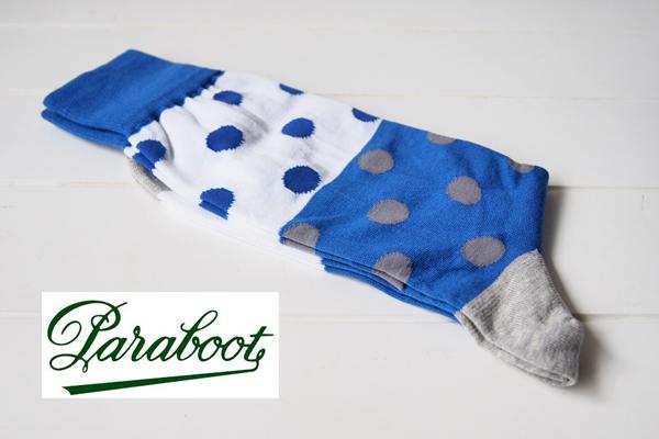 パラブーツ|Paraboot|ドット柄ソックス イメージ01