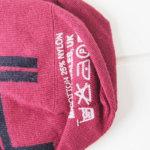 コーギー|cogi|クルー丈カジュアルソックス|レッド×ネイビー イメージ03
