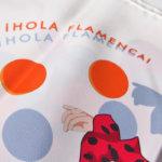 エルメス|HERMES|カレ90|i HOLA FLAMENCA!|オラ・フラメンカ|ホワイト|レッドイメージ02