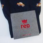 レッドソックス アピール|RED SOX APPEAL|クルマ柄ロングホーズソックス イメージ03