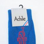 アシル|Achile|クルー丈カジュアルソックス|トランペット柄 イメージ02