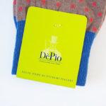 デピオ|DePio|クルー丈ドット柄カジュアルソックス|ベージュ系 イメージ02