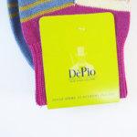 デピオ|DePio|クルー丈ボーダー柄カジュアルソックス|マルチカラー系 イメージ02