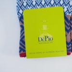デピオ|DePio|クルー丈カジュアルソックス|ホワイト×ブルーなど イメージ02
