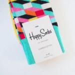 ハッピーソックス|happy socks|クルー丈カジュアルソックス|オプティックソックス|マルチカラー イメージ02