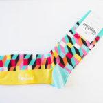 ハッピーソックス|happy socks|クルー丈カジュアルソックス|オプティックソックス|マルチカラー イメージ04